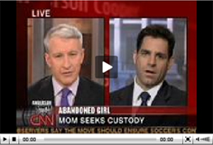 Gary Gerstenfield  with Anderson Cooper on CNN