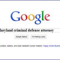 Google - Top Maryland criminal defense attorney