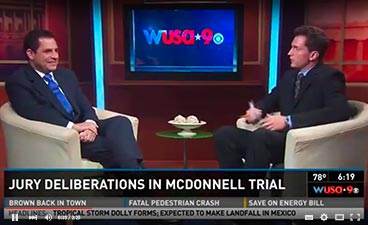 jury deliberations in McDonnell trial